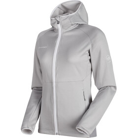 Mammut Get Away ML Hooded Jacket Women marble melange